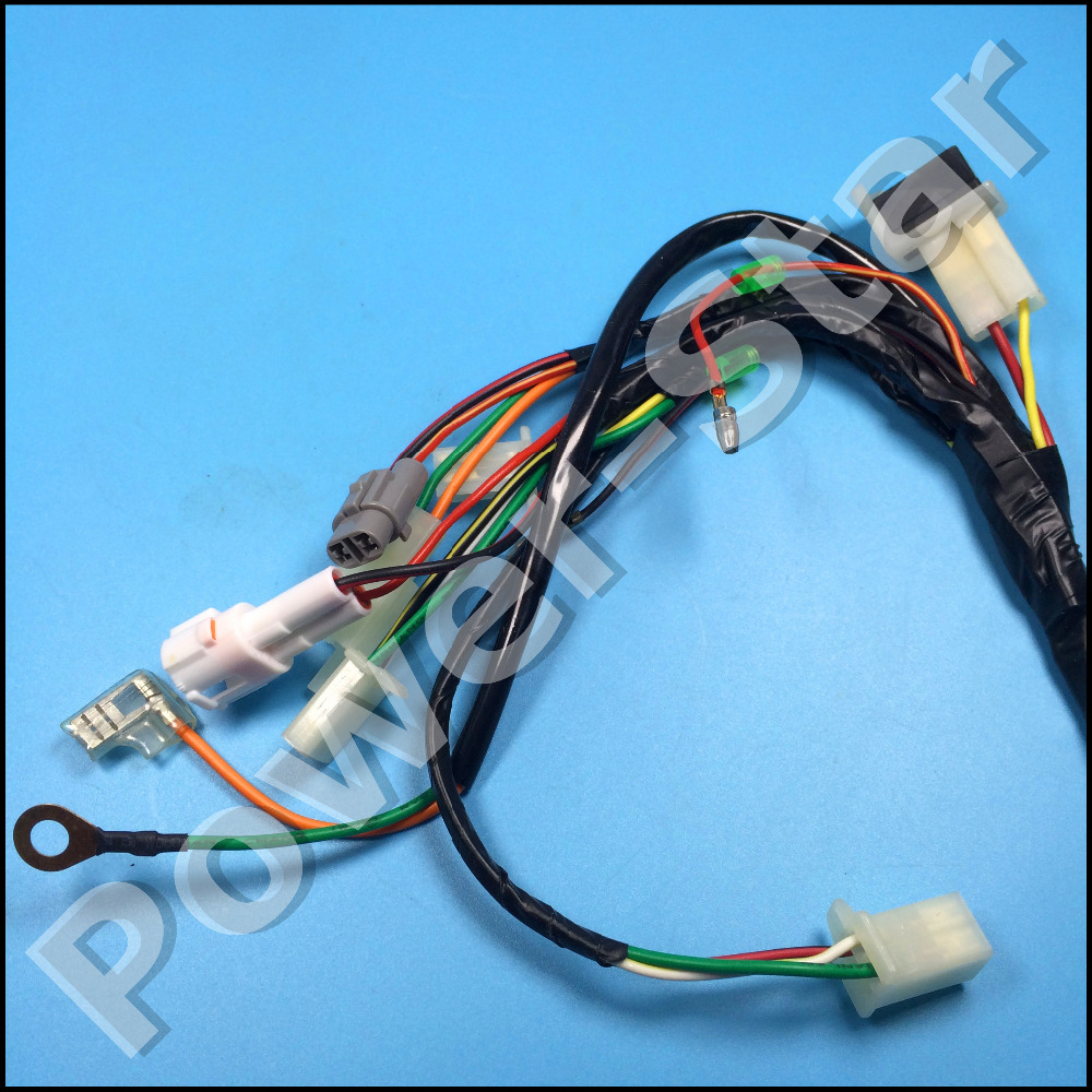 small resolution of pw50 py50 wire harness wiring assembly for yamaha pw 50 50cc dirt bike in atv parts accessories from automobiles motorcycles on aliexpress com alibaba