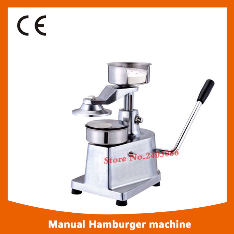 professioin commercial 100mm hamburger press patty machine/bread patty forming machine 35l meat salting marinated machine chinese salter machine hamburger shop fast pickling machine with timer