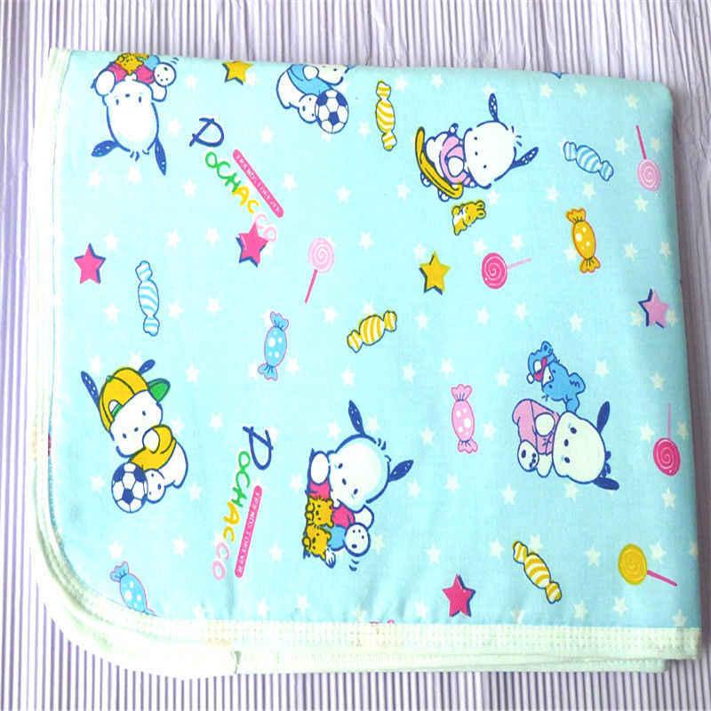 Pudcoco recién nacido bebé almohadilla de cambio camisas impermeable pañales de bambú para bebé almohadillas impermeable hoja cambio Mat patrón al azar