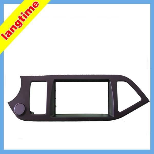 Car refitting DVD frame,DVD panel,Dash Kit,Fascia,Radio Frame,Audio frame for KOREA Picano, KIA MORNING,2DIN(left)