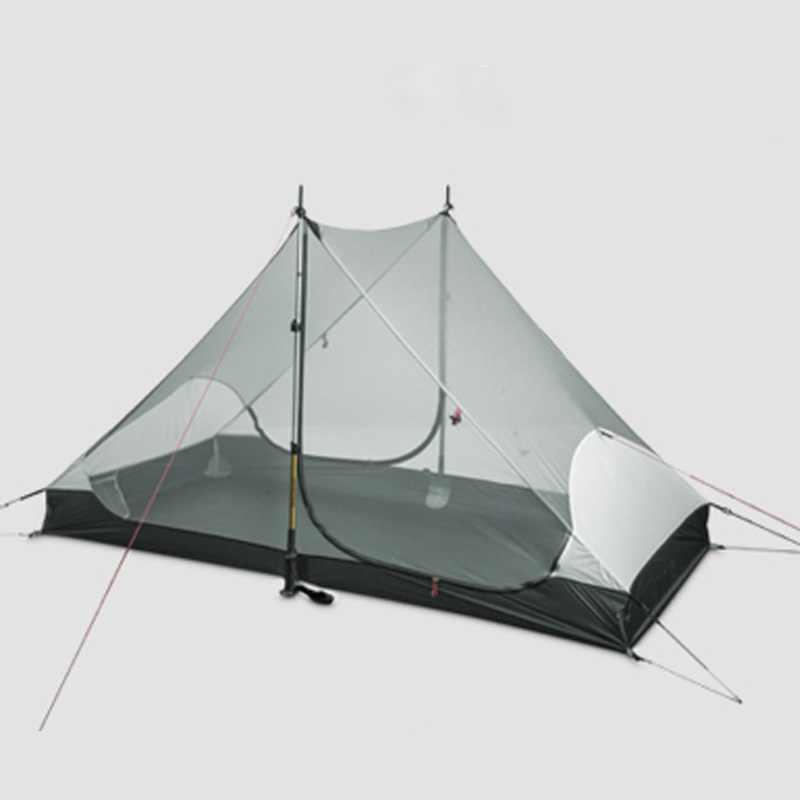 3F UL DIŞLI Yüksek kaliteli 3F ul dişli 2 kişilik 3 mevsim ve 4 mevsim iç LANSHAN 2 out kapı kamp çadırı