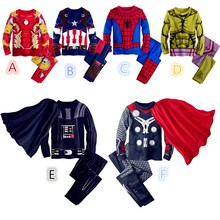 Hot Sales Spider Man Children Clothing Sets Boys Spiderman Cosplay Sport Suit Kids Sets Long Sleeve Shirts + Pants Boys Clothes
