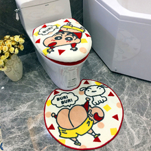 3PCS Toilet seat cushions Japanese Cartoon Gift 2018 New small new cover Four seasons universal toilet lid