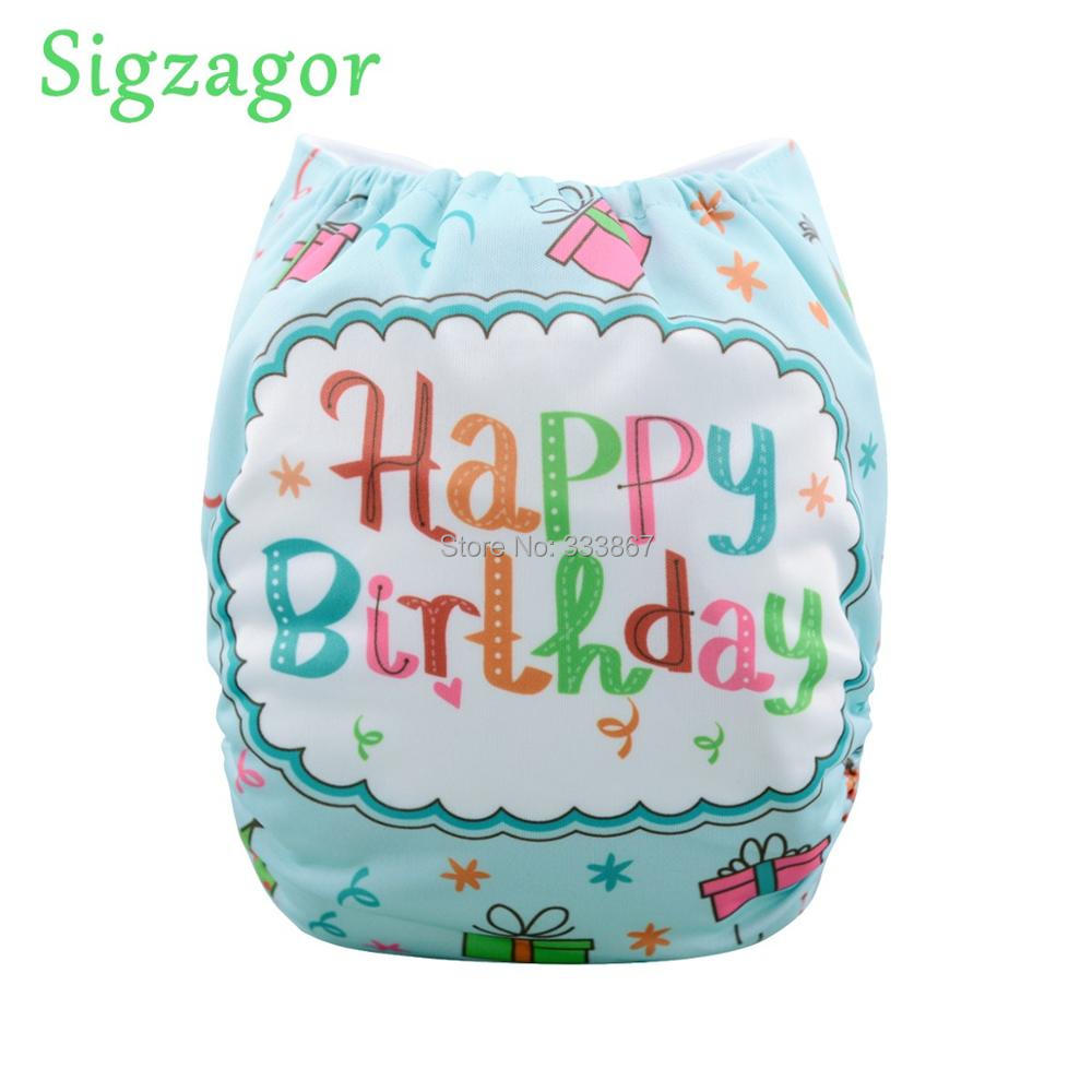 Buy Sigzagor Baby Pocket Cloth Diaper