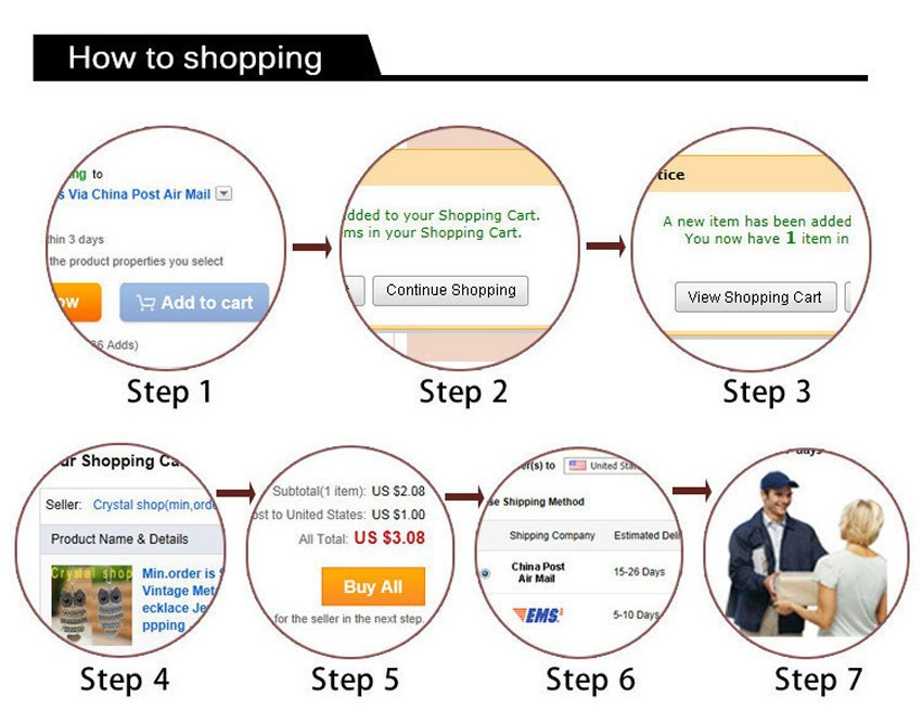 how to shipping