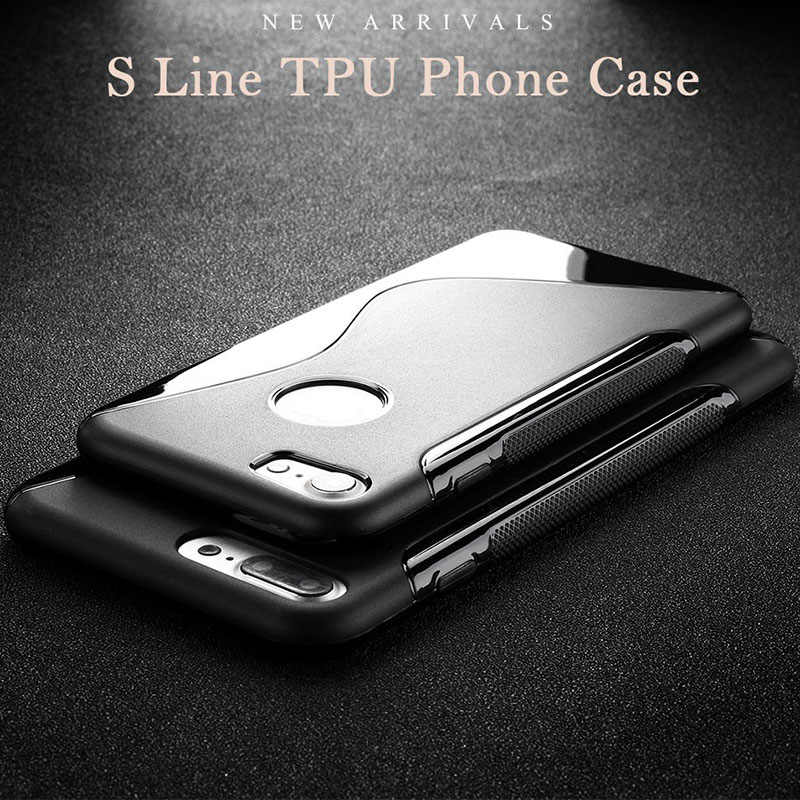 Silicone Soft TPU Case For iPhone 6S Case on iphone 7 Cover Capinha iphone 6 S 4S 5s 4 SE 5c 7 Plus Protective Shell SLine Bags