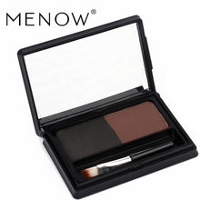 M.n Menow Two-color Eyebrow Powder Belt Eyebrow Brush Waterproof Natural Stereo Hot Selling Makeup Cosmetic E15006 ~(China)