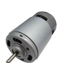 775 DC motor, 12V double ball bearing motor, high speed high torque motor, hair dryer motor 24V48V цены онлайн