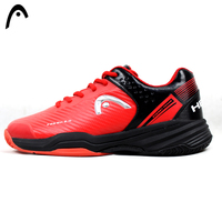 HEAD Man Tennis Shoes Red PU Waterproof Sneakers Professional Tennis Shoes For Man Cushioning Sneakers Brand Durable Sport Shoes