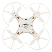 Mini Pocket Drone 4CH 6 Axis Gyro RC Micro Quadcopter with 3D Flip, Headless Mode, One Key Return Nano Copters RTF Mode 2 white