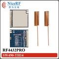 2 шт./лот RF4432PRO высокая чувствительность-121 дбм и 100 МВт SPI Интерфейс 470 МГц Si4432 Модуль Приемопередатчика