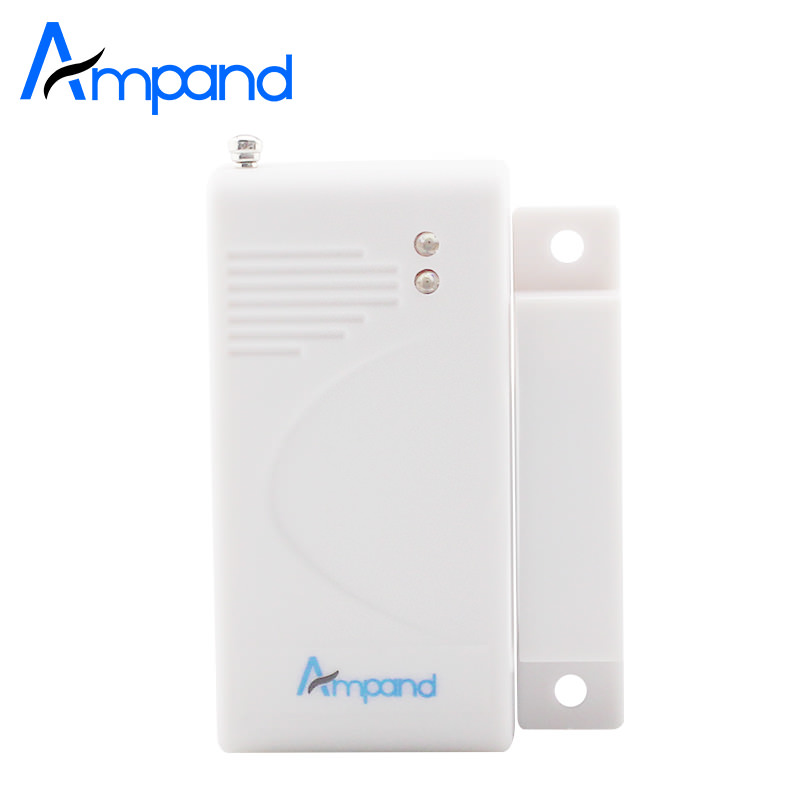 Wireless Door Sensor for Wireless GSM Home Security Alarm System 433Mhz wireless smoke fire detector for wireless for touch keypad panel wifi gsm home security burglar voice alarm system