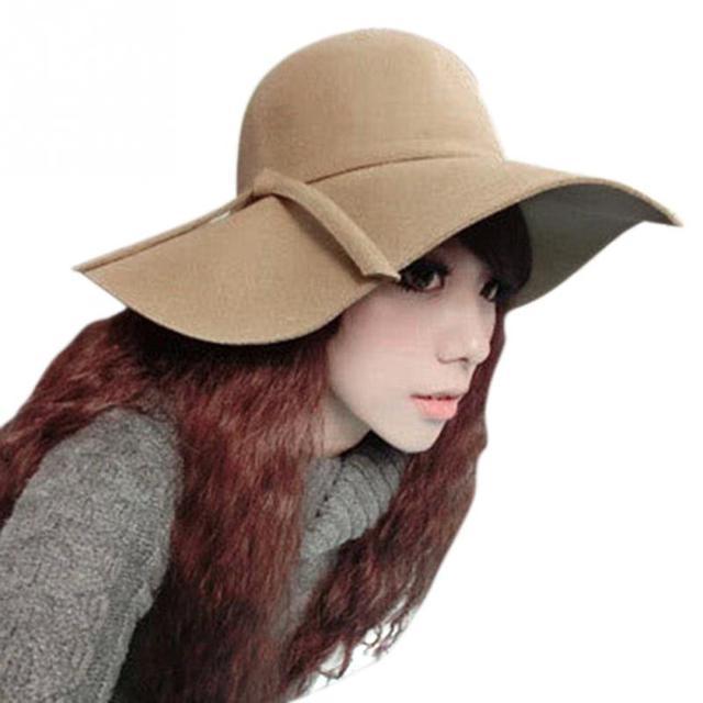 LOVIW mujeres vogue Sombrero Tendencia Ocio Fresco Señoras Sombrero de Fiesta Sombrero de Sol 2 Colores