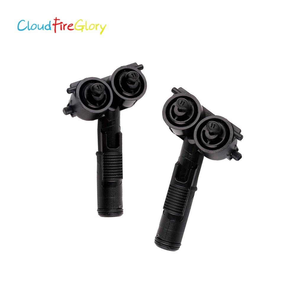 Cloudfireglory K K Pcs Pair Headlight Headlamp Washer Nozzle Spray For Volkswagen Eos Je Tta Golf