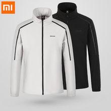 5a4be799 Оригинальный Xiaomi ULeemark Мужская спортивная куртка удобные дышащие  светоотражающие полосы дизайн плюс бархат осенние куртки высокое