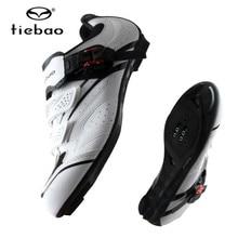 Tiebao Мужская обувь для велоспорта, sapatilha ciclismo, профессиональная обувь для спорта на открытом воздухе, для гонок, спортивная обувь для внедорожников, велосипедная обувь