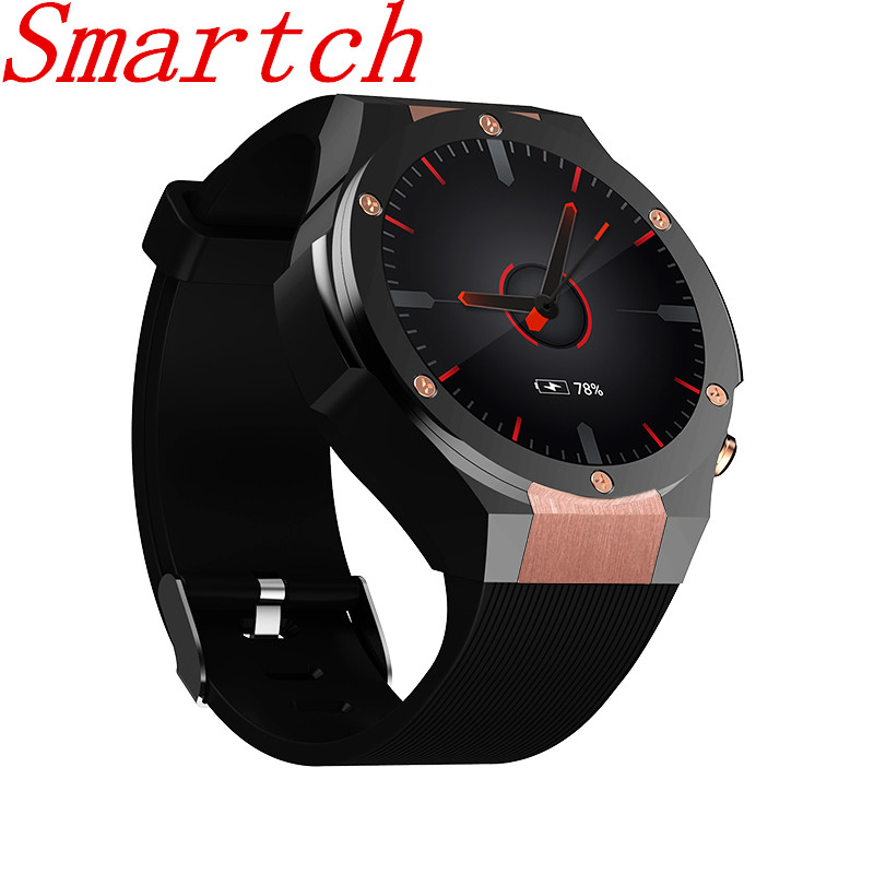 Smartch OLED Screen Watch H2 Smart Watch With GPS Wifi 3G Camera Smartwatch MTK6580 IP67 Waterproof 400*400 Heart Rate Monitor 1