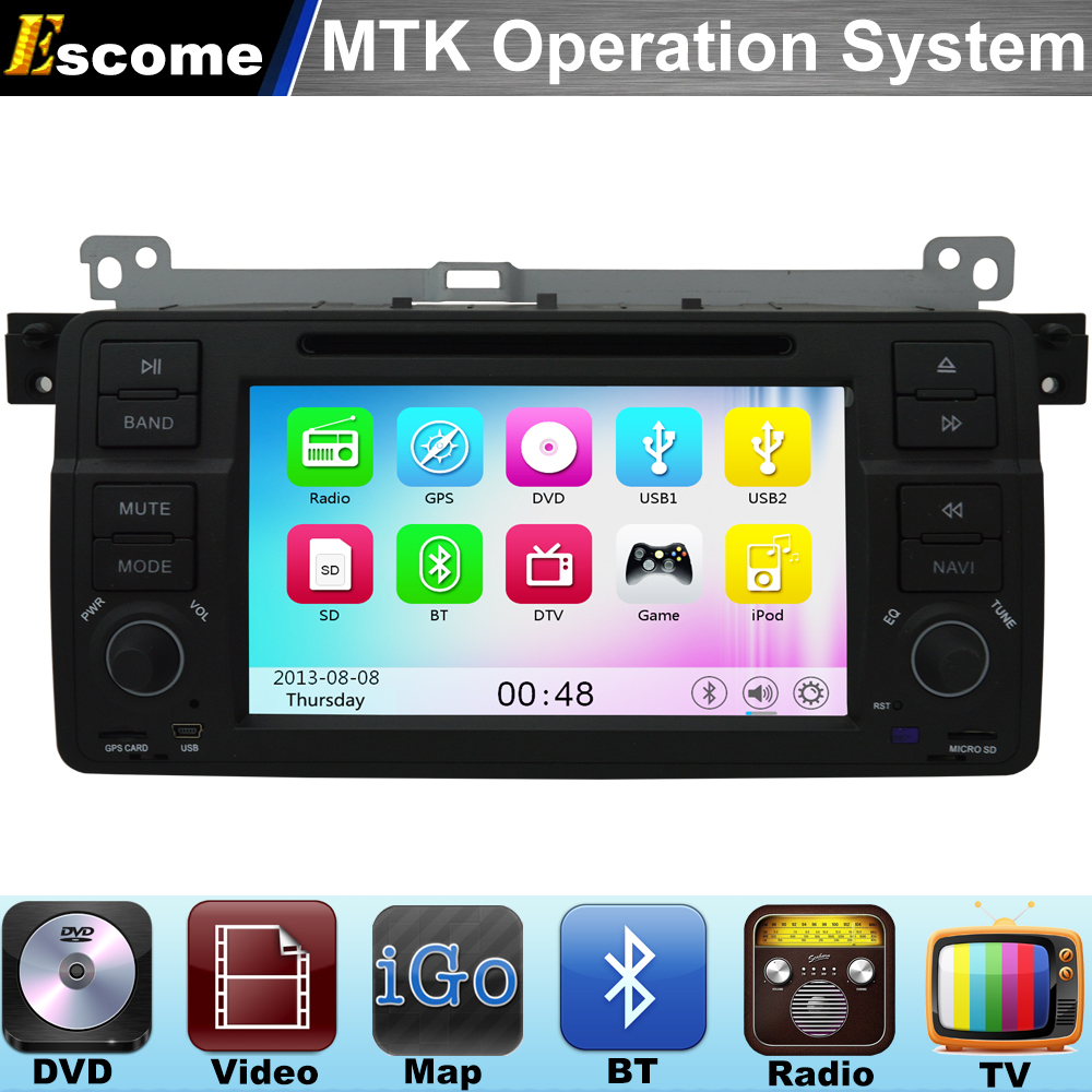MTK3360 Car DVD Player For BMW E46 M3 1998 2006 Rover 75