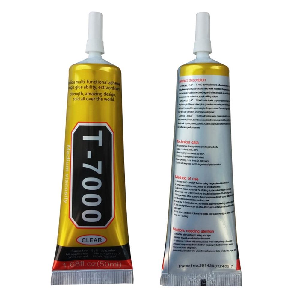 T7000/T8000 клей эпоксидная смола прозрачный клей игольчатый тип инструмент для ремонта экрана телефона 15 мл -- M25