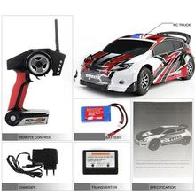 Wltoys A949 RC Car 1:18 2.4G remote control Toys 4WD electric car Rally remote control car without Original Box