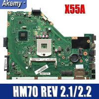 Amazoon X55A Laptop motherboard for ASUS X55A NoteBook Computer Test original motherboard HM70 REV 2.1/2.2