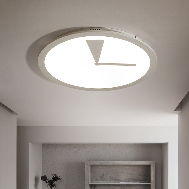 LED creative ceiling lights round bedroom Ceiling lighting simple modern children room fixtures study ceiling lamps ...