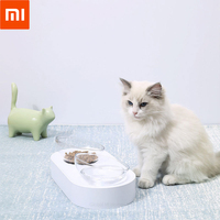 XIAOMI Youpin PETKIT 15 degree adjustable double bowl Place food and water together Dual purpose convenient cat bowl 63