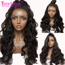 NEW Hand Tied High Ponytail Virgin Indian Long wavy Full Lace Wigs Glueless Lace Front Human Hair Wigs with 150% Density