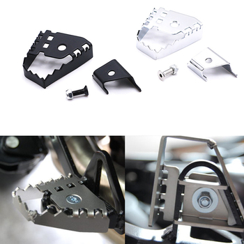 For BMW F800GS F700GS F650GS R1150GS R1200GS R 1150/1200 GS motorcycle Rear Foot Brake Lever Peg Pad Extension Enlarge Extende image