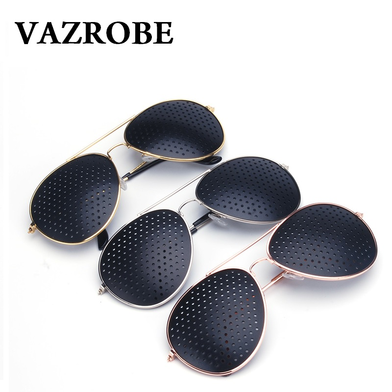 Vazrobe Pinhole Sunglasses Men Women Vision Care