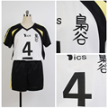 2016 Custom-made Hot Anime Haikyuu Fukurodani Uniform Bokuto Koutarou Haikyuu Jersey Cosplay Costume For Men Women