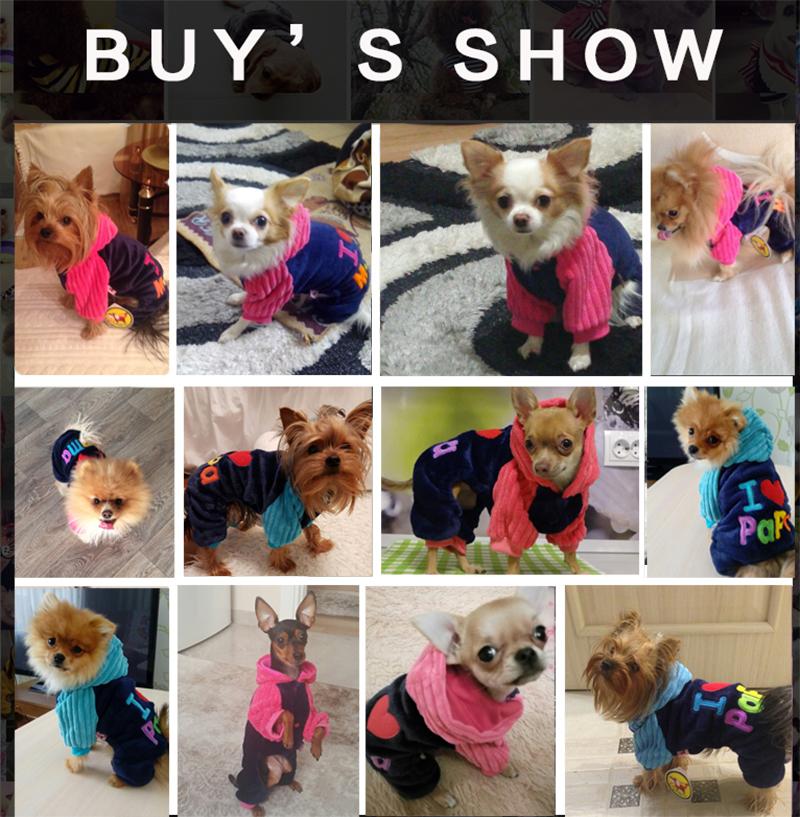 2017 PETCIRCLE FASHION I LOVE PAPA AND MAMA WINTER PET DOG CLOTHES CLOTHING FOR PET SMALL LARGE DOG COATS JACKETS FOR CHIHUAHUA