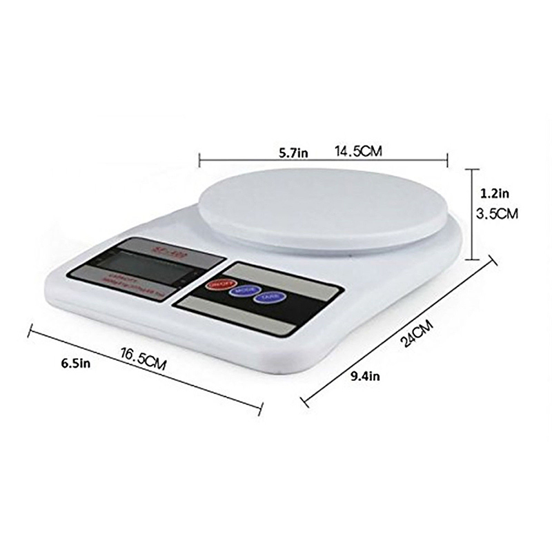 1 gr to 22lbs Weight KITCHEN scale ELECTRONIC ABS LCD69]