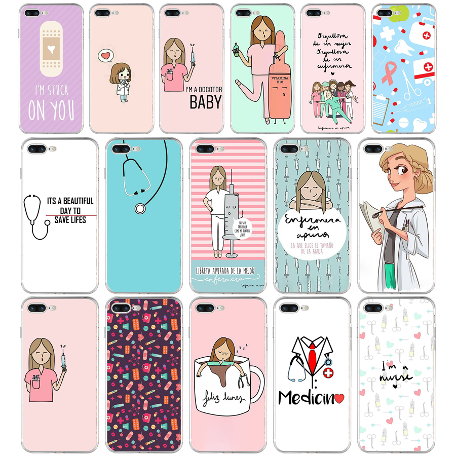 Cellphones & Telecommunications Hospitable 98we Cute Cartoon Medicine Doctor Soft Tpu Silicone Cover Case For Apple Iphone 6 6s 7 8 Plus Case Phone Bags & Cases