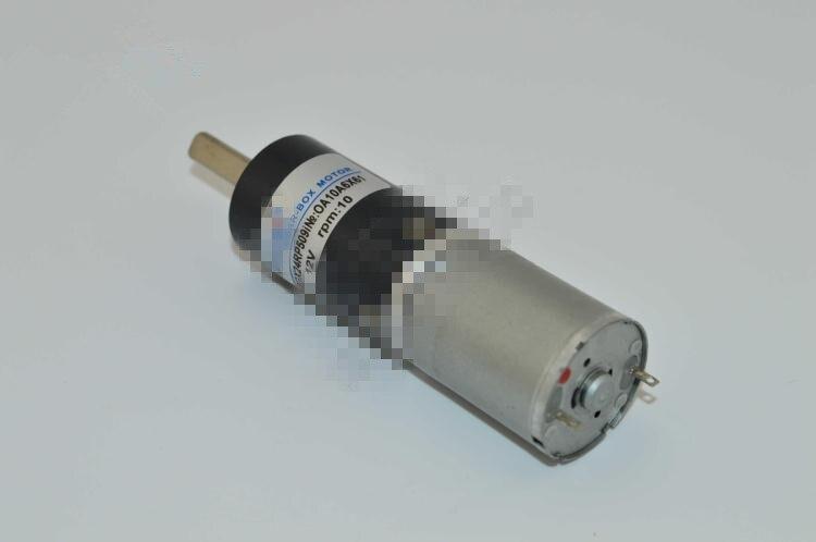 Permanent Magnet Brush Planetary Gear Motor 24mm DIA ZGX24RP DC 12V 24V