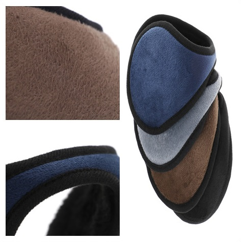 1Pc Winter Ear Muff Unisex Ear Warmer Earlap Earmuff Earmuff Wrap Band Gift Black/Coffee/Gray/Navy Blue Apparel Accessories