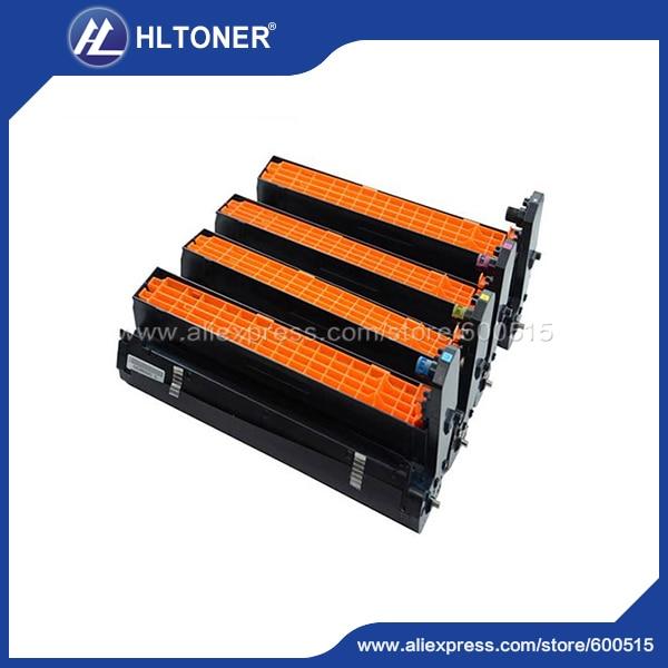 4pcs/set Remanufactured drum unit (4406412 4406411 4406410 4406409) for OKI C801 C810 C821 C830 MC860