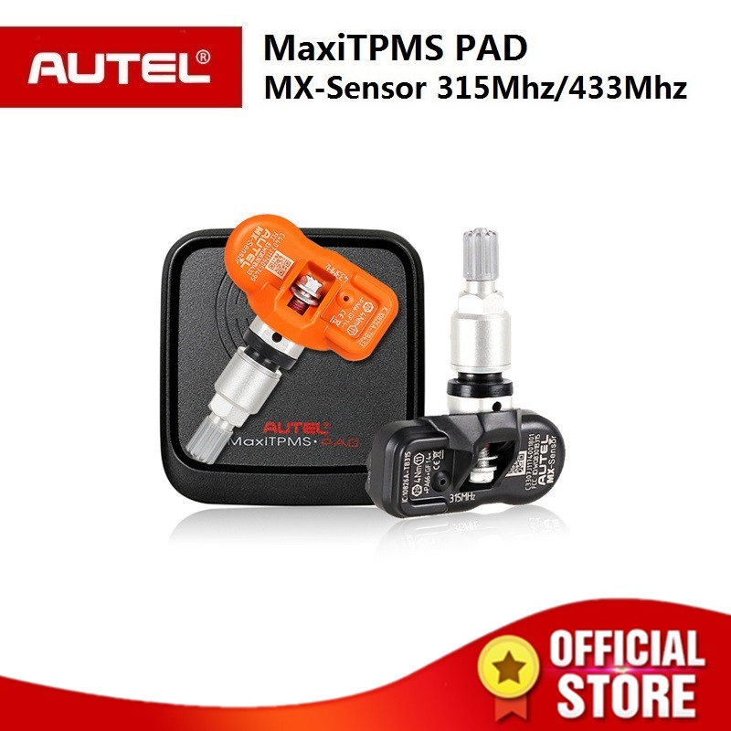 Autel MX Sensor 433MHZ 315MHZ autel TPMS Sensor programming MaxiTPMS pad Tire Pressure tester MX-Sensor for autel TS601 TS501 цена