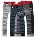 Новые мужские брюки Человек мода Повседневная свободные Брюки Досуг брюки продвижение высокое качество бренда