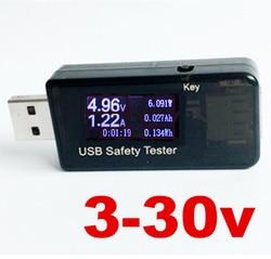 5v 9v 12v 30v usb current and voltage charger capacity meter qc 2 0 quick tester.jpg 250x250