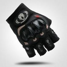 цена на Cycling Bicycle Bike Gloves Sports Half Finger Anti Slip Gel Gloves Mittens guantes ciclismo Black Size M- XL SAICHE-01B