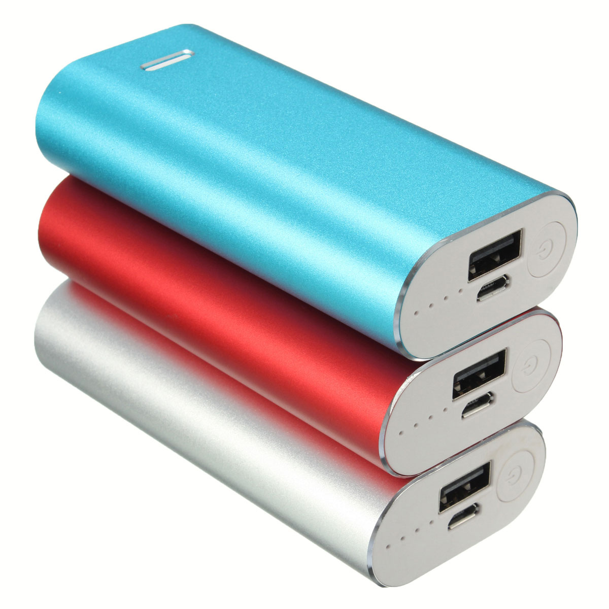 Universal Portable Safety USB DIY Power Bank Box 2x 18650 Battery Charger Case Kits for iPhone for Smart Cell Phones all Decives