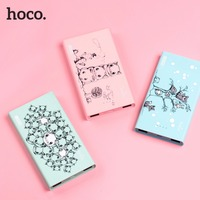 HOCO 3 Colors Cute 13000mAh Cookie Power Bank Lovely Mouse Battery Backup Charger For All Mobile
