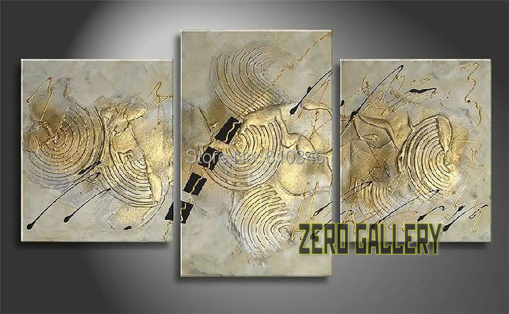 Hot hand painted oil paintings modern abstract large wall for Peinture decorative