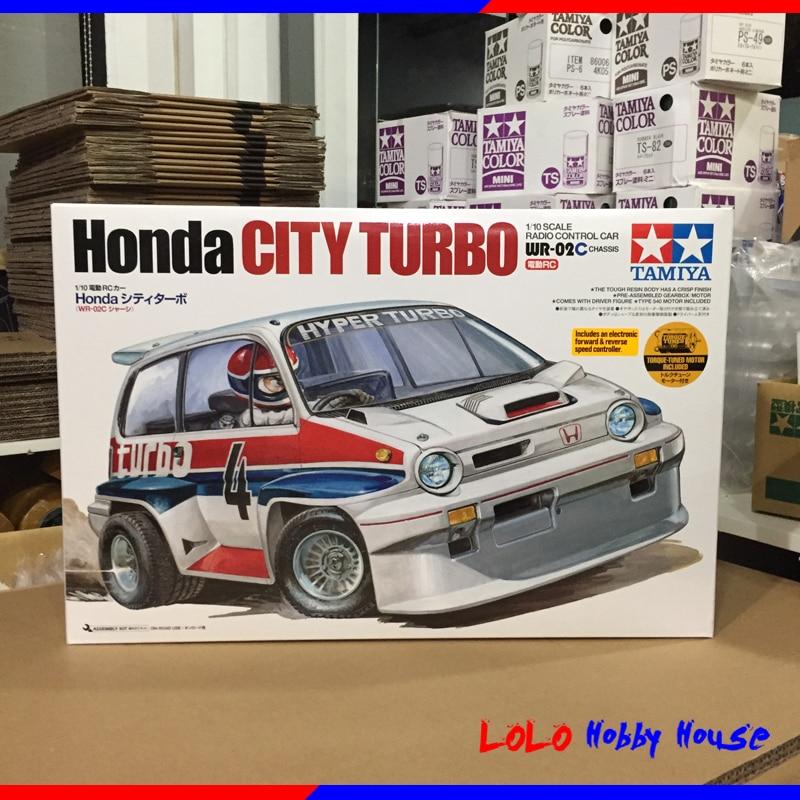 DIY TAMIYA 4WD Car Chassis Kits 1/10 City Turbo WR-02C 58611 цена