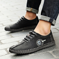 2017 Male Shoes Spring Autumn Fashion Men Shoes Casual Designer Men High Quality Flat Sapato Masculino Luxury Round Toe Hot Sale
