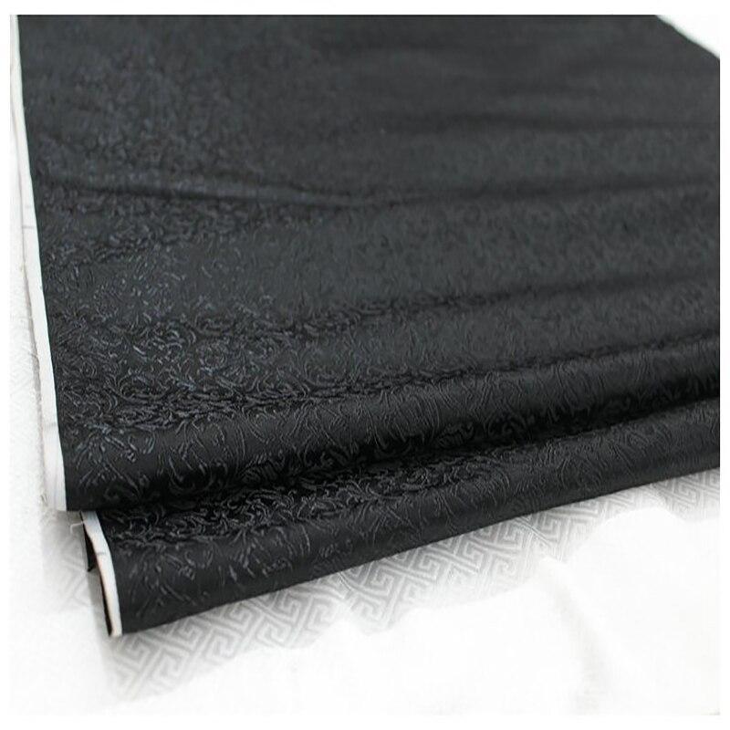 HLQON brocart fleur de malt tissu noir patchwork tissu telas drap de lit cheongsam robe enfants manteau tissu 75cm largeur