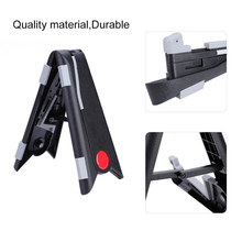 Hot Foldable Guitar Stand A-Frame Music Instrument for Electric Acoustic Bass Ukulele MCK99 metal guitar capo with bridge pin remover fit for acoustic electric guitar bass ukulele mandolin soprano concert tenor baritone