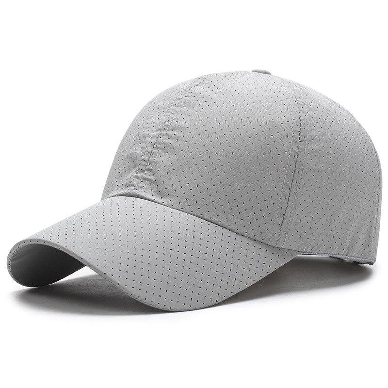 Hat Running-Cap Slim Summer Mesh Breathable-Hat Quick-Drying Bone Fabric Ms. Men's
