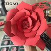 WEIGAO 1Pcs 30/40cm DIY Artificial Paper Flowers Wedding Decoration Rose Flower Girl First Birthday Mariage Event Party Supplies 3